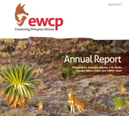 EWCP Annual Report cover